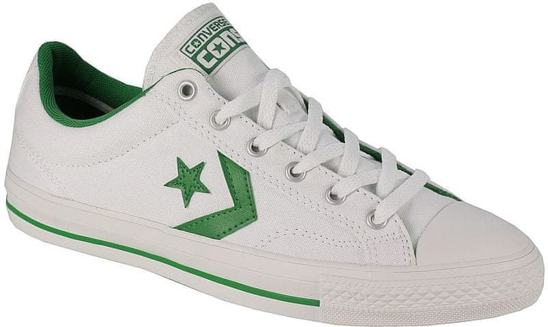 Converse Star Player White/Green 45