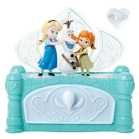 Disney Frozen - glasbena škatlica za nakit
