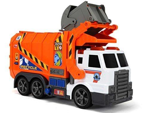 Dickie Action Series Popelářské auto 46 cm