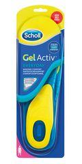 Scholl wkładki damskie do codziennego obuwia GelActive, 2 szt.