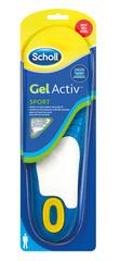 Scholl wkładki męskie do sportowego obuwia GelActive, 2 szt.