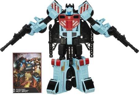 Transformers Generations Voyager Hot Spot s doplnkami a náhradným vybavením