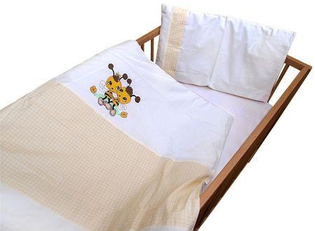 COSING 2-delni set posteljnine De Luxe Čebela, rumena