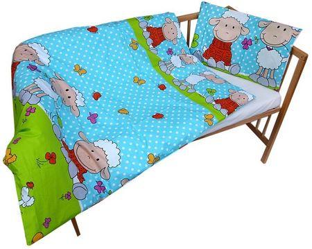 COSING 2-delni set posteljnine Ovčka, modra