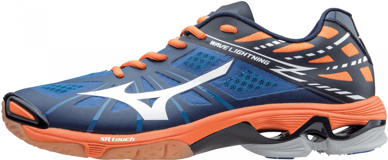 Mizuno Wave Lightning Z Blue/Orange 9,5 (44)