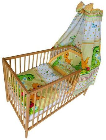 COSING 4 részes babaágynemű szett, Comfort Dino