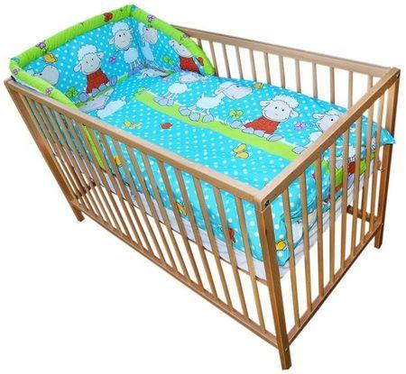 COSING 3-delni set posteljnine Comfort Ovčka, modra