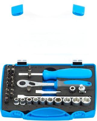 """Unior garnitura nasadnih ključev 1/4"""" in bitsov - 188BI6P36 (621407)"""