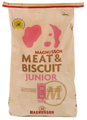 Magnusson hrana za mlade pse Meat&Biscuit Junior, 10kg
