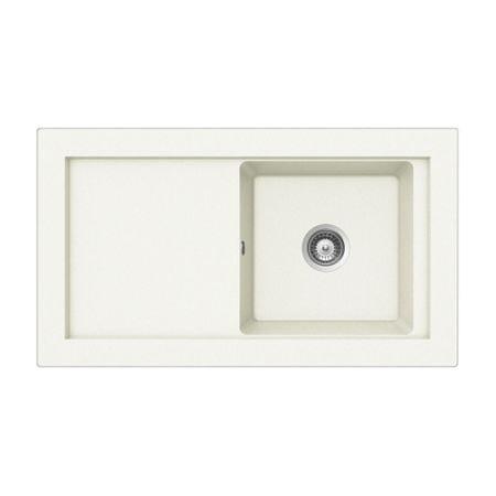 Teka zlewozmywak granitowy Aura 45 B-TG - biały (88391)