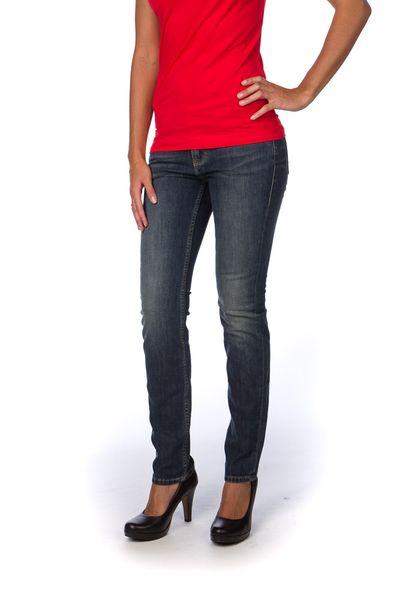 Mustang dámské jeansy Jasmin 26 34 modrá 5c43163cd7