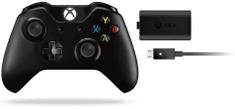 Microsoft Xbox One gamepad (Langley) + nabíjecí souprava