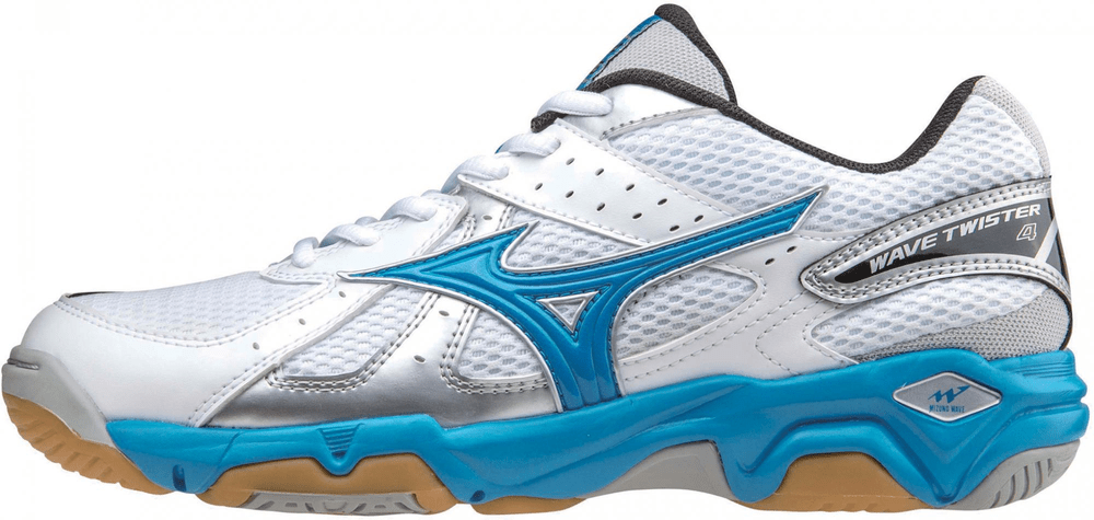 0a39c6e446e Mizuno Wave Twister 4 W White Blue 4
