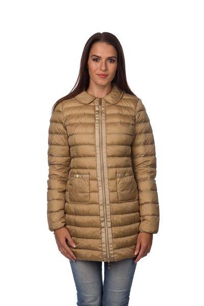 Geox dámský péřový kabát 42 béžová