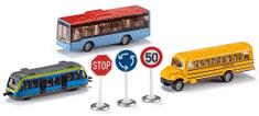 SIKU Set městská vozidla + značky