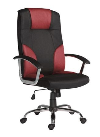 Kancelářské křeslo Miami červeno-černé