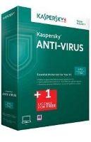 Kaspersky anti-virus obnova 1 leto 1 PC + 3 meseci Gratis