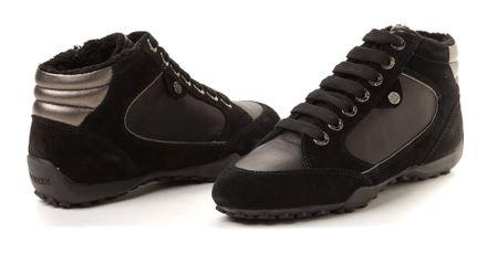 6d6c39e1b87 Geox dámská kotníčková obuv s postranním zipem 36 černá