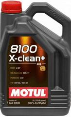 Motul ulje 8100 X-Clean Plus 5W-30, 5 litara