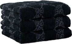 Joop! 3ks ručníky 50x100 cm, cornflower