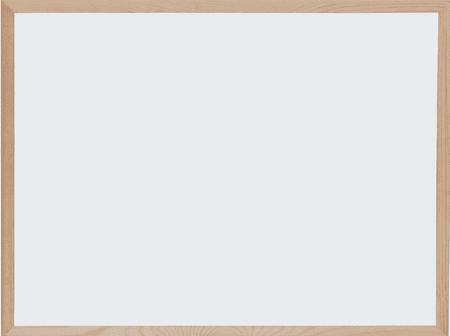 Optima magnetna tabla, 90 x 120 cm, bela, lesen okvir