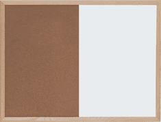 Optima kombinirana tabla pluta/magnet 30x 40 cm