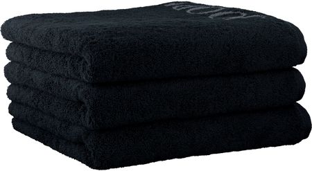 Joop! 3 kosi obojestranskih brisač 50x100cm, črna