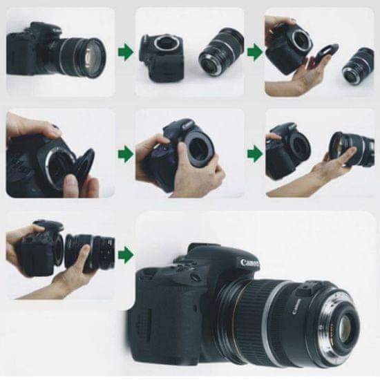 Captor obratni makro adapter za Canon, 52 mm