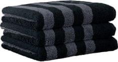 Joop! 3ks ručníky 50x100 cm, proužky