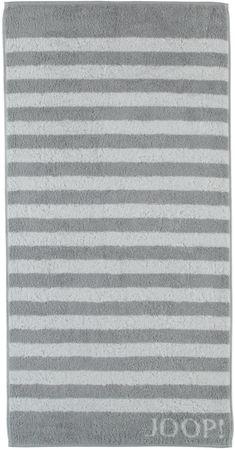 Joop! brisača 80x150cm, črte, siva