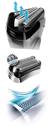 BRAUN Series 3 3050 Clean   Charge Férfi borotva d595a43166