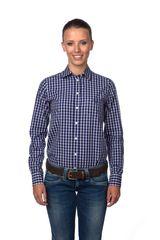 Gant dámská kostkovaná košile s kapsičkou c5a450da81