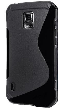 S-line ovitek za Samsung Galaxy Active G870 črn