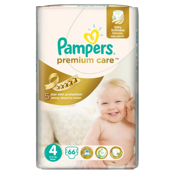 Pampers Pleny PremiumCare 4 Maxi - 66 ks