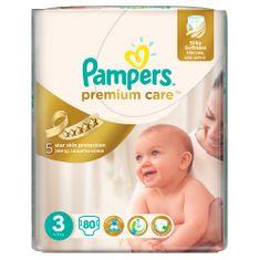 Pampers Premium Care 3 Midi pelenka - 80 db