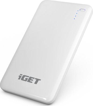 iGET Power B-8000 (Li-Pol 8000 mAh / 2x výstup až 2,5 A / 1x vstup 2 A)
