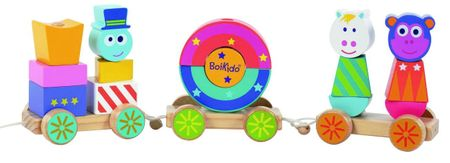 BOIKIDO Boiki cirkusz vonat