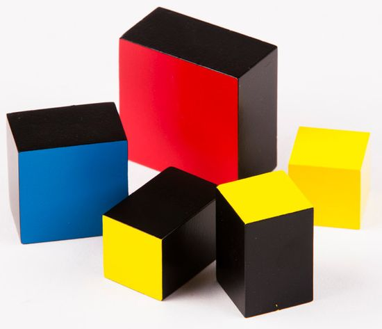 Montessori Trinominális kocka (aritmetikus)