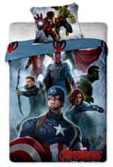Jerry Fabrics Povlečení Avengers Amerika bavlna 140x200 70x90
