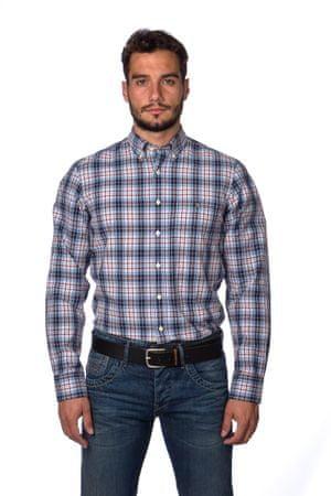 Gant pánská kostkovaná košile M modrá - Diskuze  a5e5522943