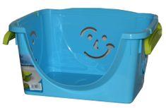 Mazzei Úložný box Fancy 1 modrý