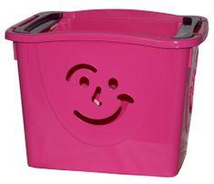 Mazzei Úložný box FANCY 2 ružový