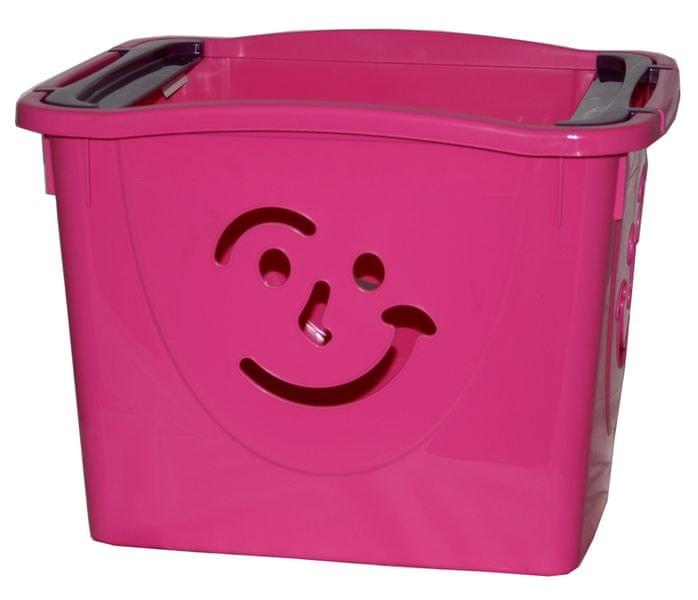 Mazzei Úložný box Fancy 2 růžový