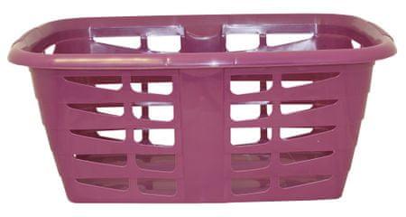 Mazzei koš za čisto perilo Prisma, 31,5 l, vijoličen