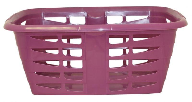 Mazzei Koš na čisté prádlo PRISMA 31,5 litrů fialová