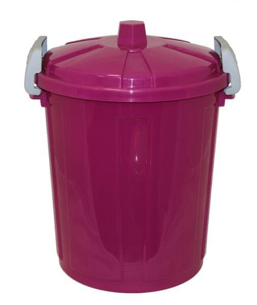 Mazzei Plastová popelnice 21 litrů fialová