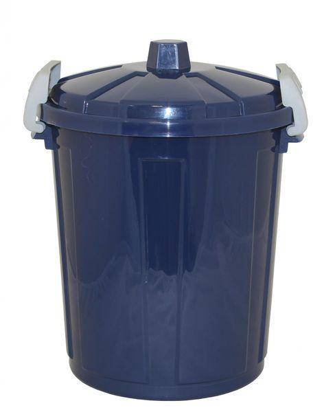Mazzei Plastová popelnice 50 litrů modrá
