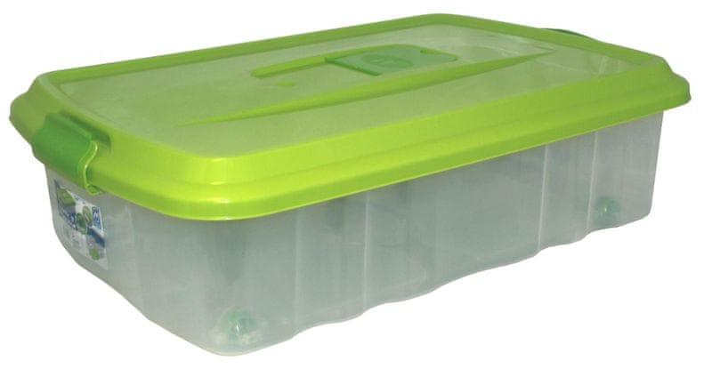 Mazzei Úložný box na kolečkách SPORTER FRAGNANCE 6 - 22,5 litru zelená