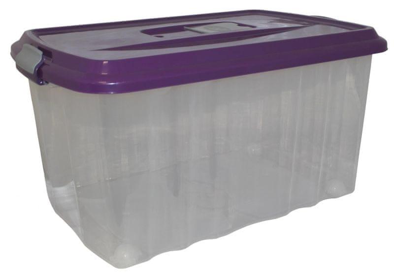 Mazzei Úložný box na kolečkách SPORTER FRAGNANCE 7 - 45 litrů fialová