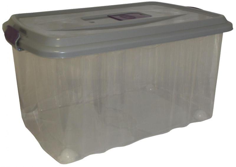Mazzei Úložný box na kolečkách SPORTER FRAGNANCE 7 - 45 litrů šedá